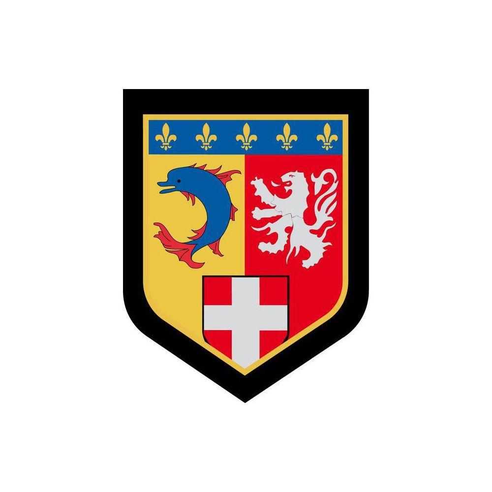 Bleu AMG Pro Ecusson Gendarmerie R/égion Centre Basse visi