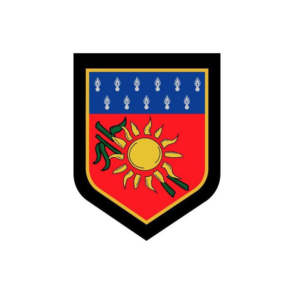 Ecusson de Bras Brode Gendarmerie Departementale Guadeloupe