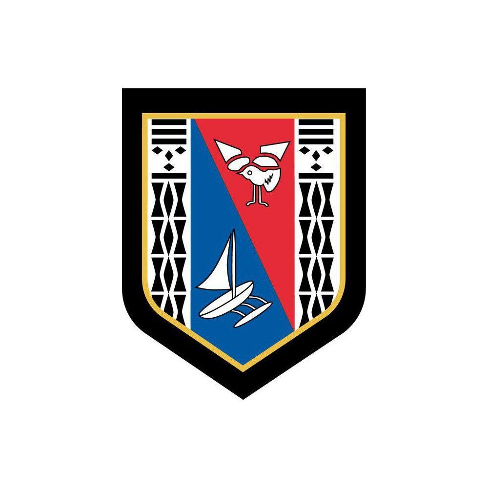 Ecusson de Bras Brode Gendarmerie Departementale Nouvelle Caledonie