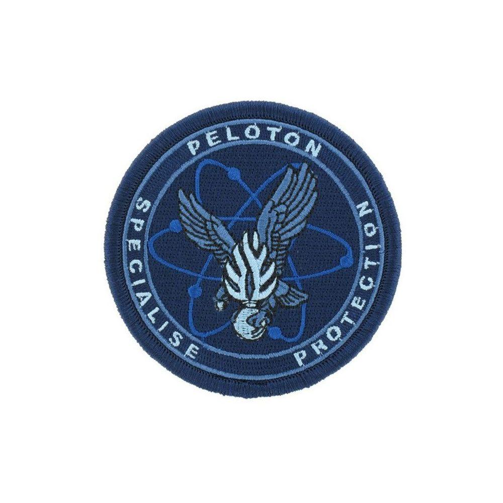 Ecusson de Bras Brode PSPG basse visibilite bleu
