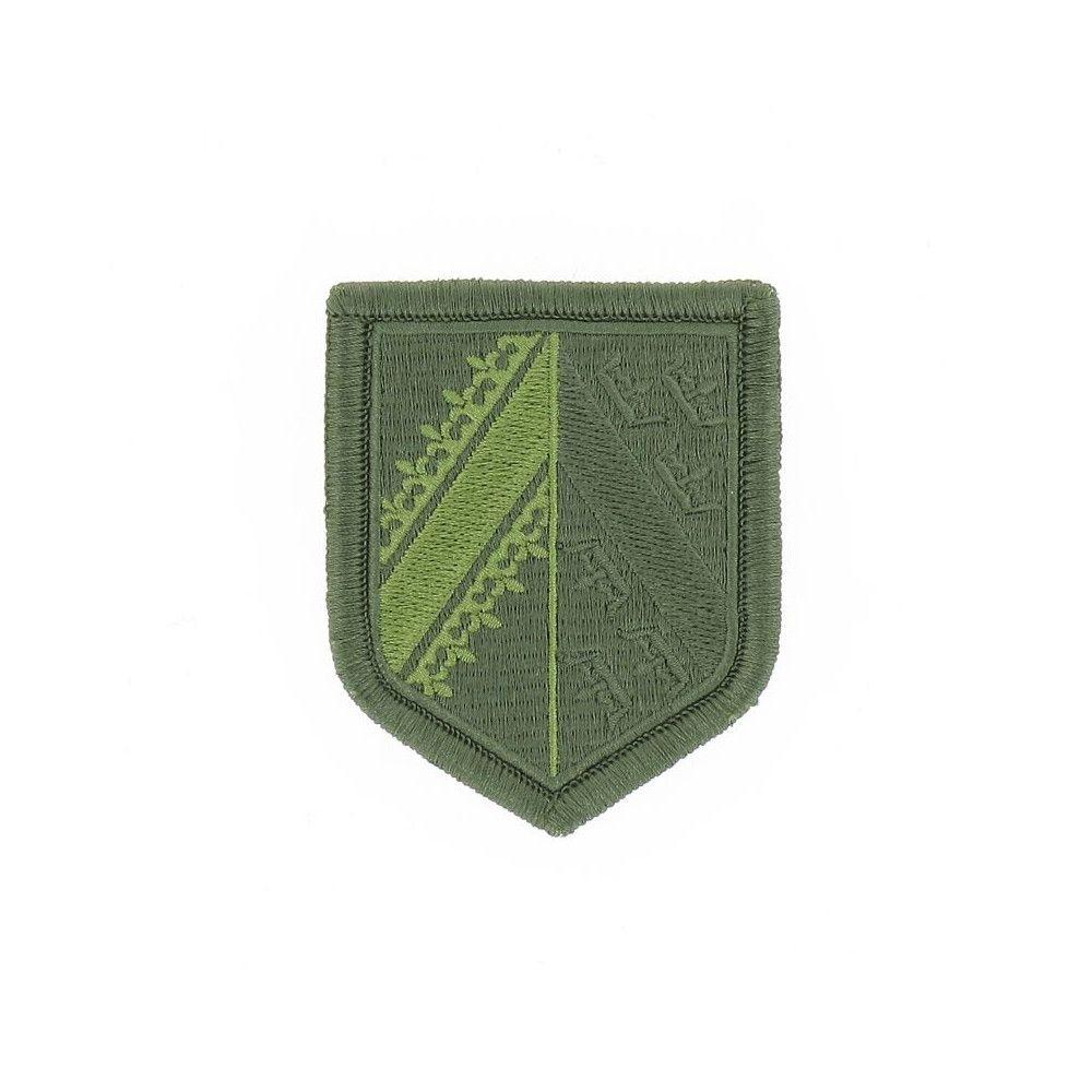 Ecusson de Bras Brode Gendarmerie Departementale Alsace Basse Visibilite Vert
