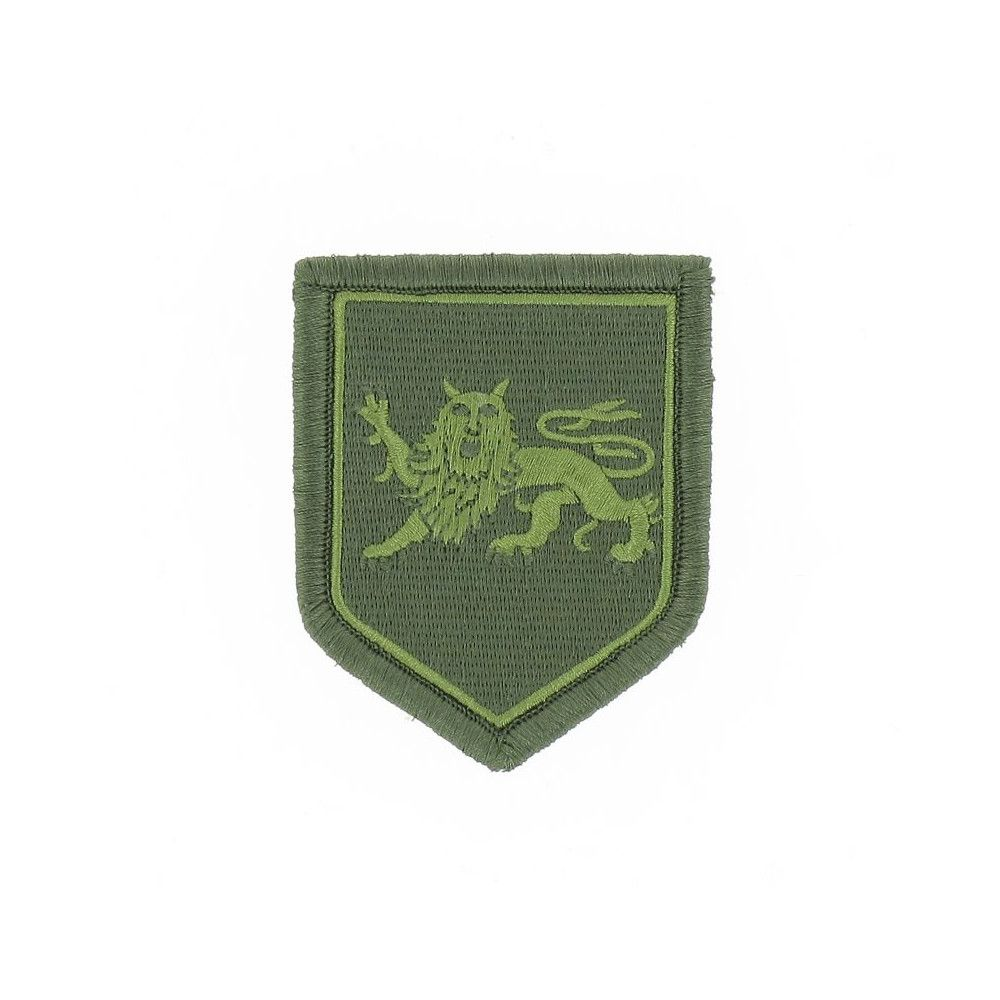 Ecusson de Bras Brode Gendarmerie Departementale Aquitaine Basse Visibilite Vert