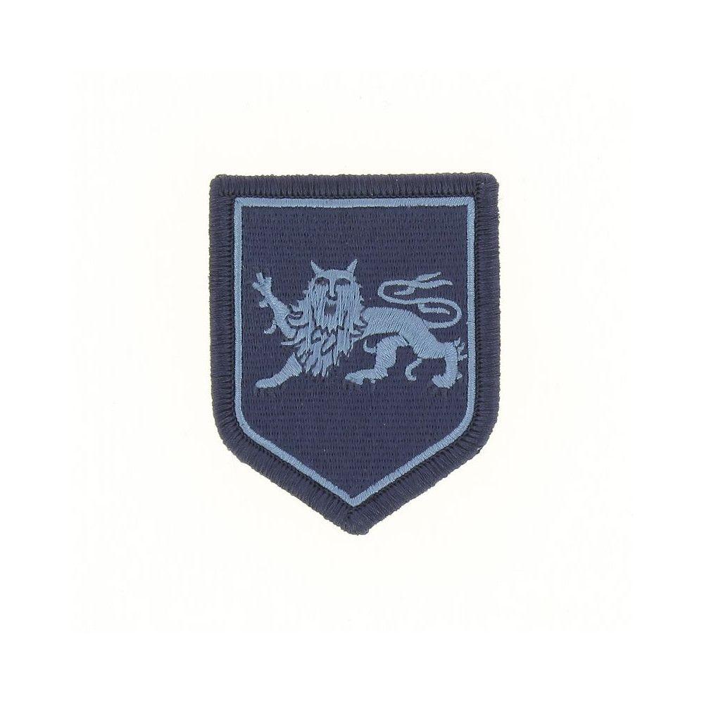 Ecusson de Bras Brode Gendarmerie Departemetale Aquitaine Basse Visibilite Bleu