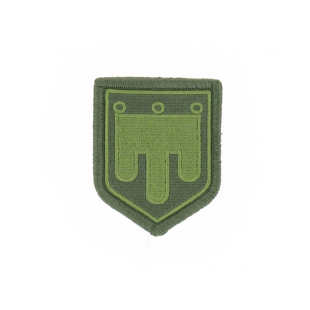 Ecusson de Bras Brode Gendarmerie Departementale Auvergne Basse Visibilite Vert