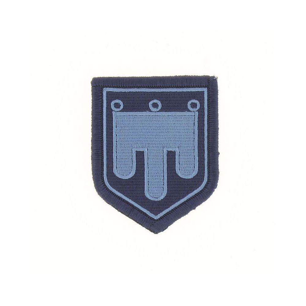 Ecusson de Bras Brode Gendarmerie Departemetale Auvergne Basse Visibilite Bleu