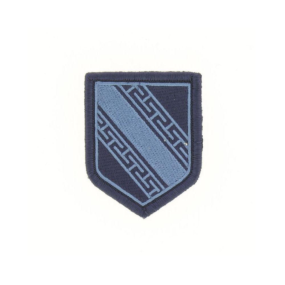 Ecusson de Bras Brode Gendarmerie Departemetale Champagne Ardenne Basse Visibilite Bleu