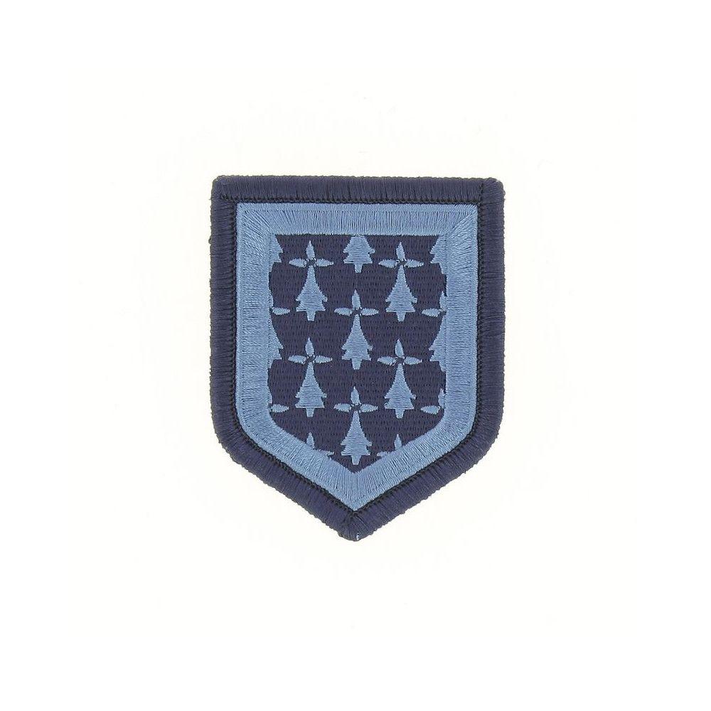 Ecusson de Bras Brode Gendarmerie Departemetale Limousin Basse Visibilite Bleu