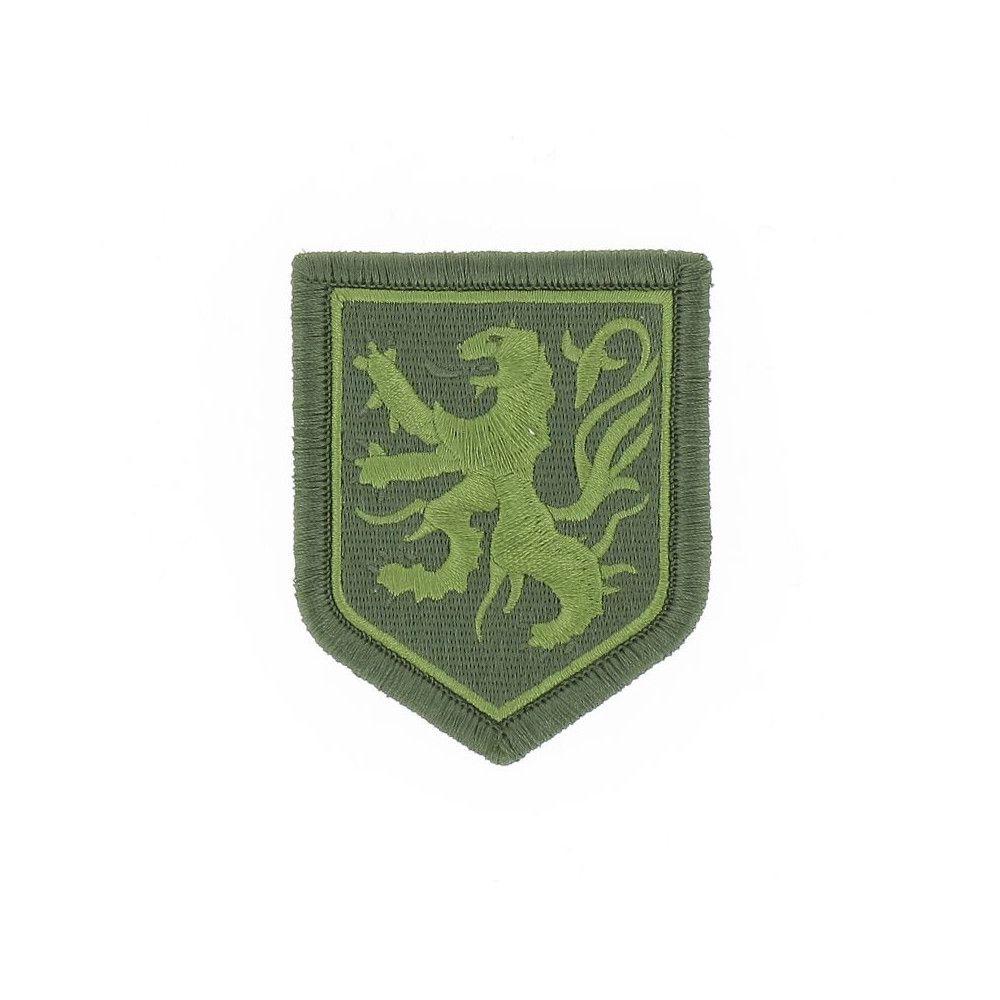 Ecusson de Bras Brode Gendarmerie Departemetale Nord Pas de Calais Basse Visibilite Vert