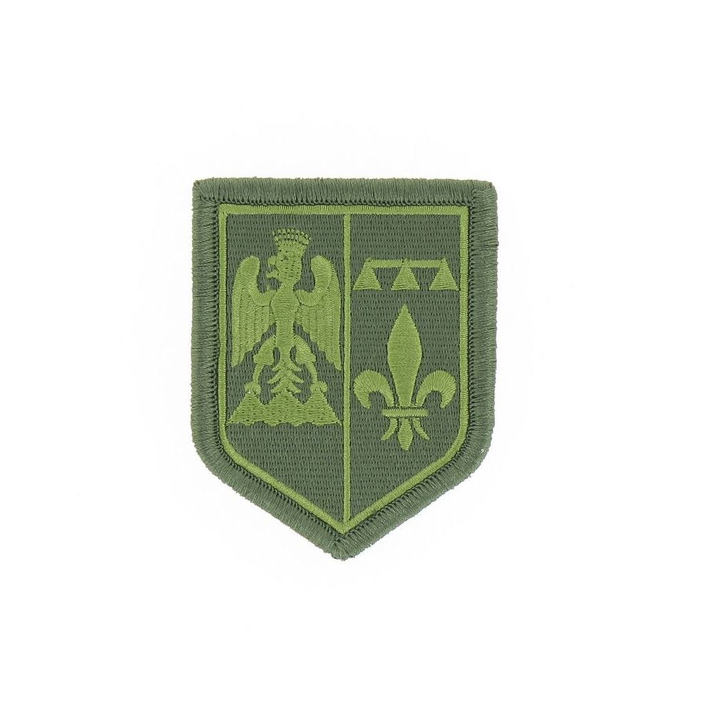 Ecusson de Bras Brode Gendarmerie Departemetale PACA Basse Visibilite Vert
