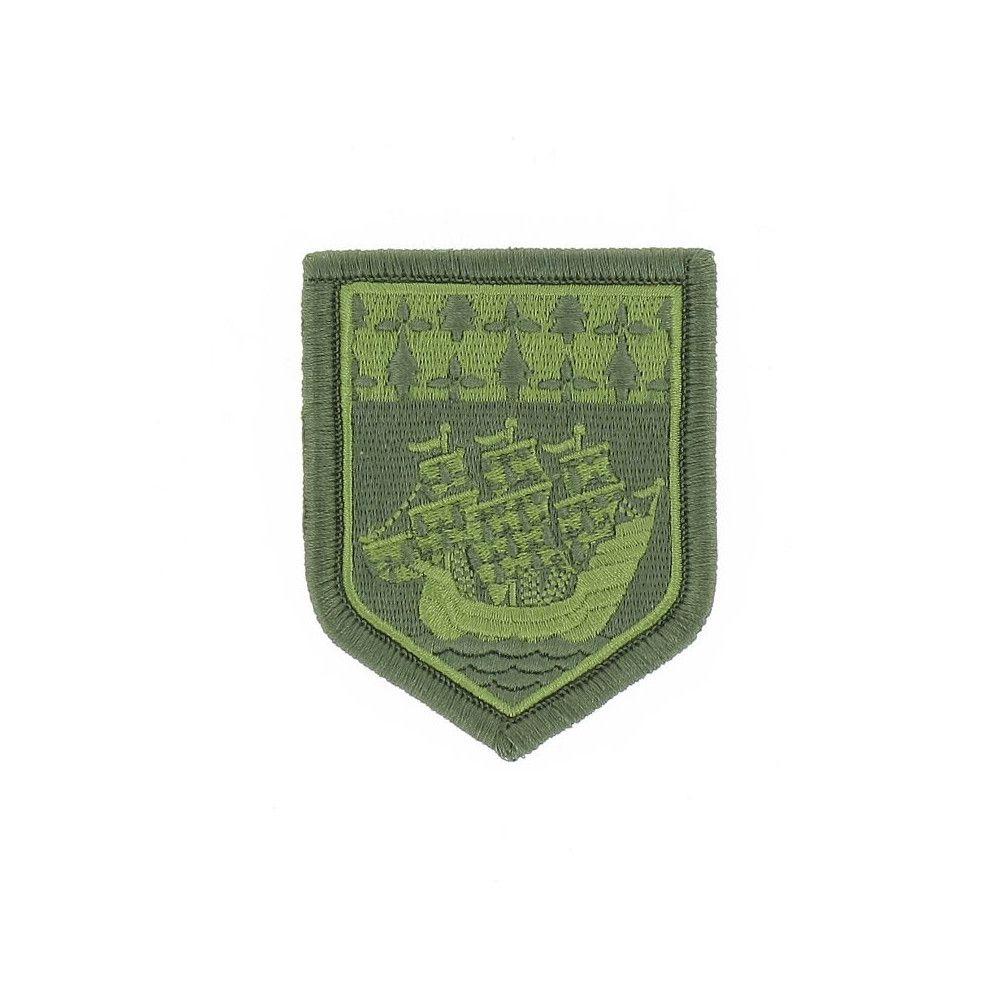 Ecusson de Bras Brode Gendarmerie Departemetale Pays de Loire Basse Visibilite Vert
