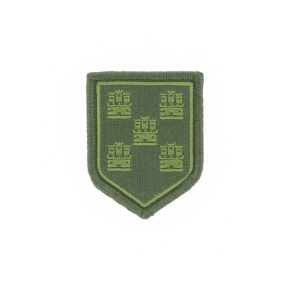 Ecusson de Bras Brode Gendarmerie Departemetale Poitou Charente Basse Visibilite Vert