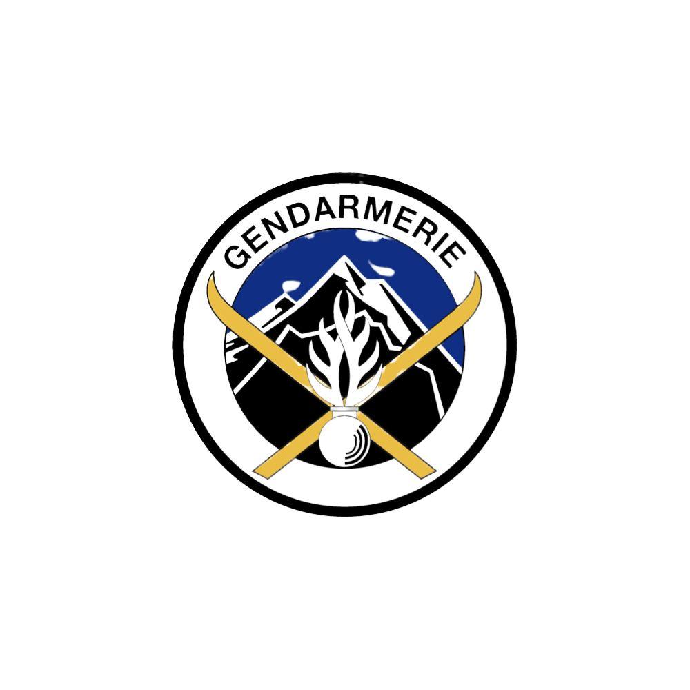 Ecusson de Bras Brode Gendarmerie Haute Montagne