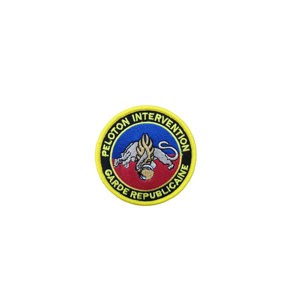 Ecusson de Bras Brode Peloton d'Intervention de la Garde Republicaine