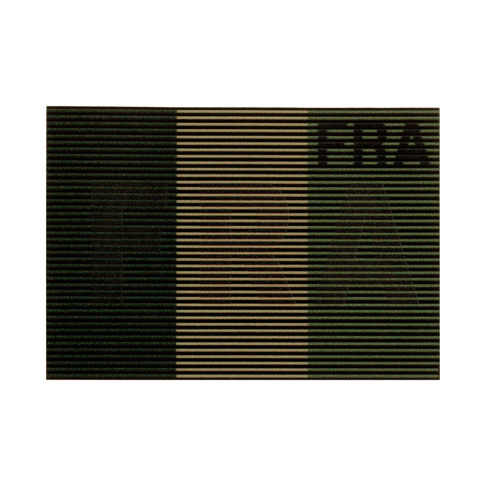 Patch dual IR France basse visibilité Vert