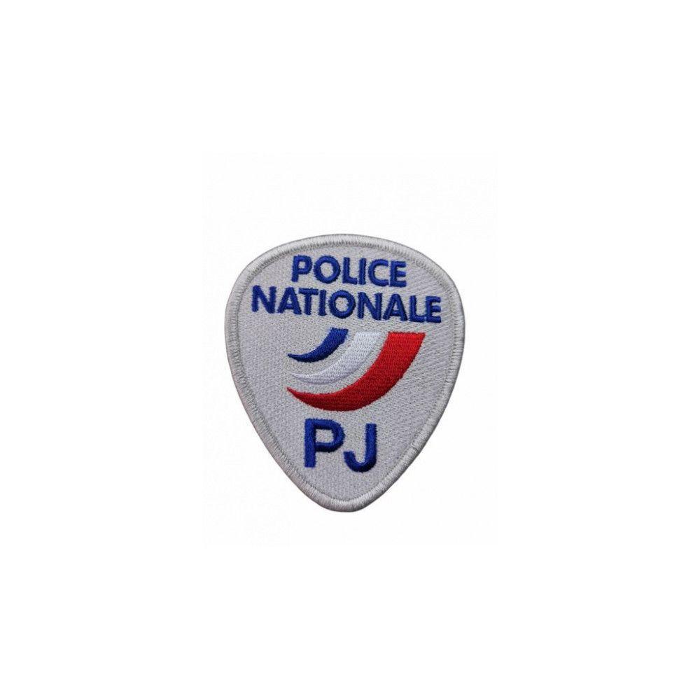 Ecusson de Bras Brode Police PJ