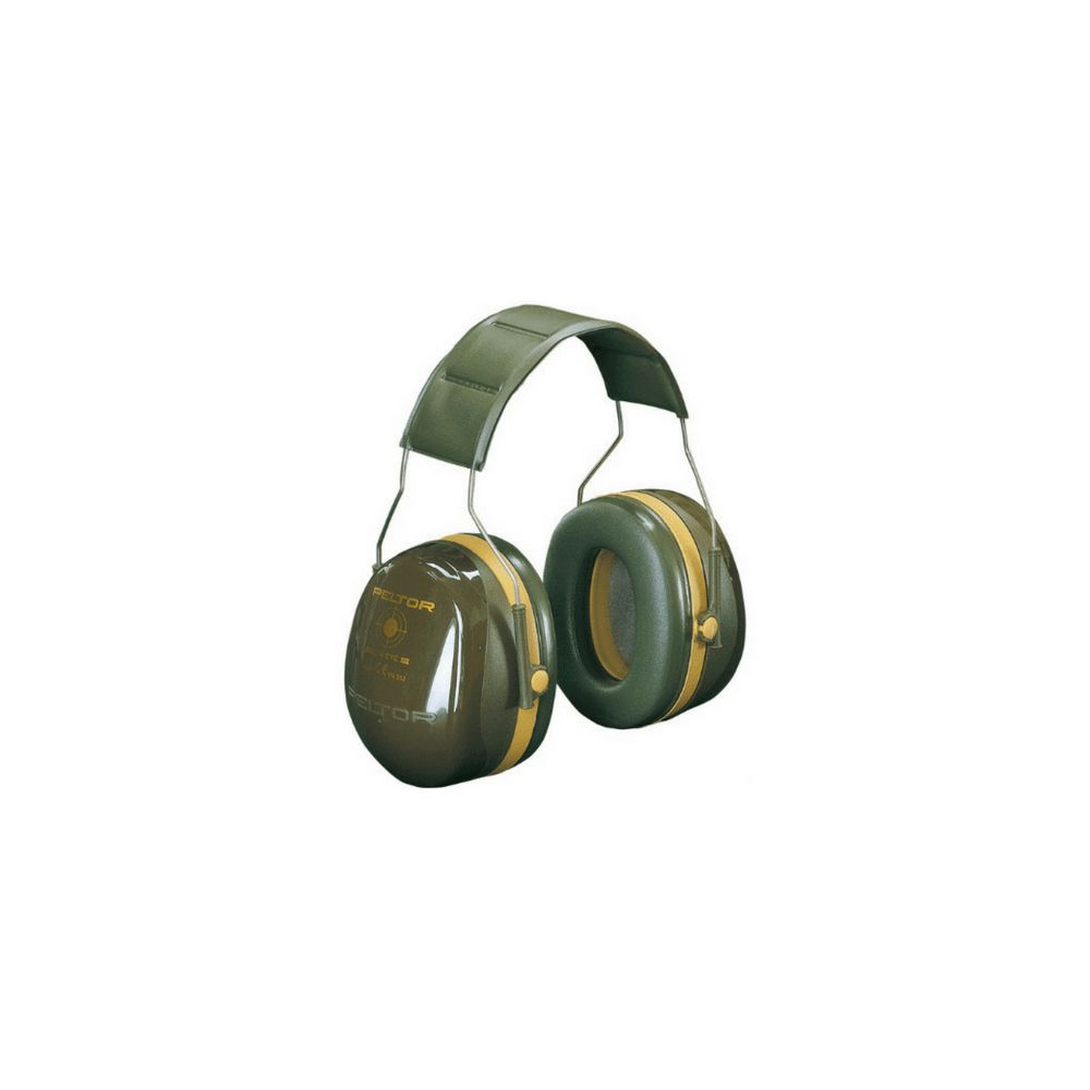 Casque antibruit Peltor Bull's Eye III Vert