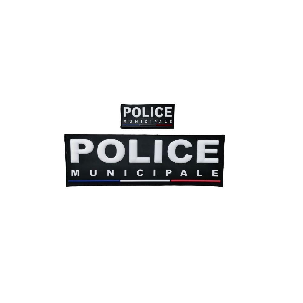 Jeu de bande Police Municipale PVC France