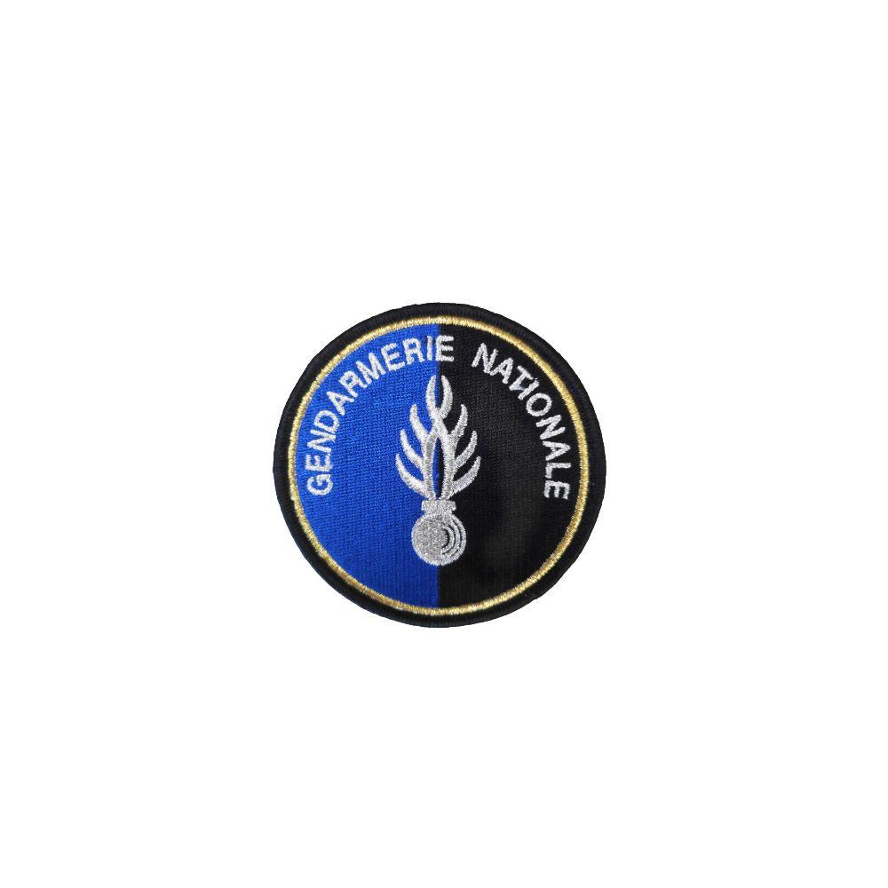 Ecusson de Bras Brode Gendarmerie Flamme