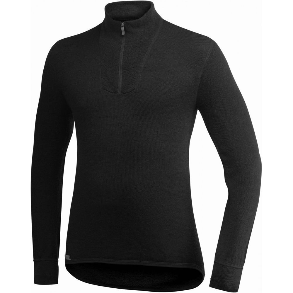 ULLFROTTE WOOLPOWER ZIP TURTLENECK 200