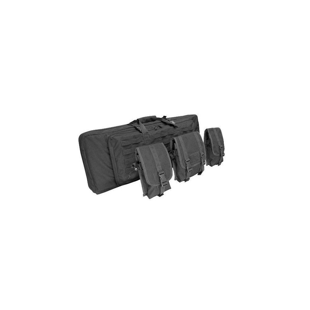 """Housse Transport 42"""" Condor  Double Rifle Case"""