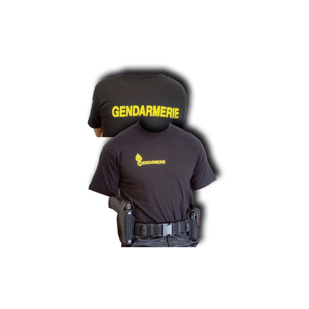 Tee-shirt noir Gendarmerie