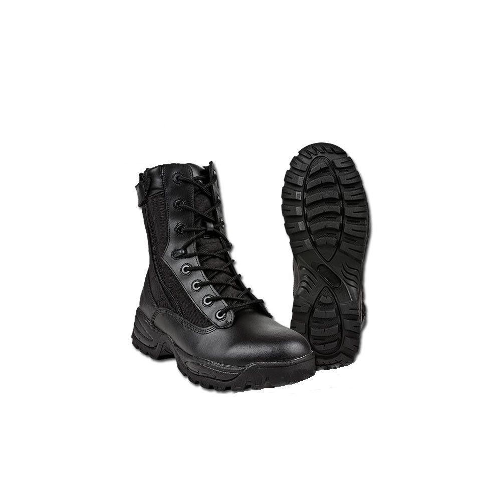 Chaussures d'intervention double zip