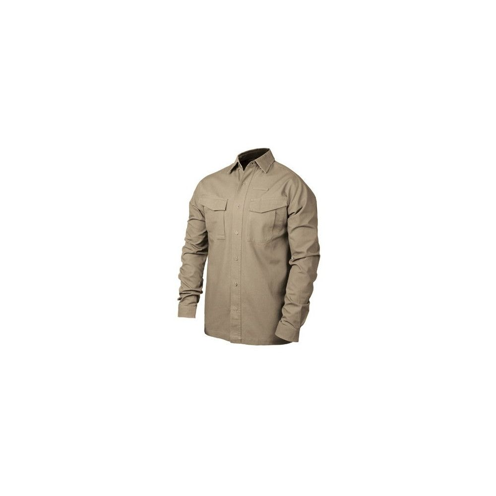 CHEMISE BLACKHAWK WARRIORWEAR LIGHTWEIGHT MANCHES TAN
