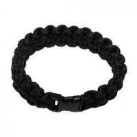 Bracelet Paracorde noir
