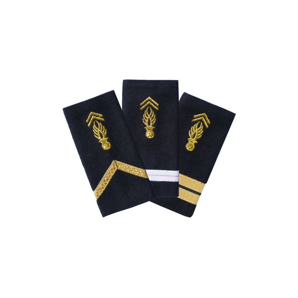Passant d'épaules souples Gendarmerie Mobile