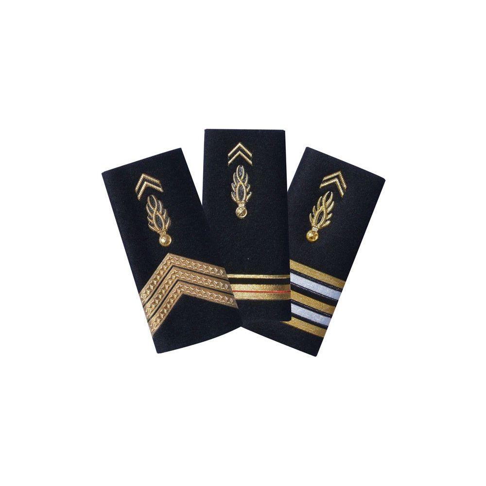 Passant d'épaules rigides Gendarmerie Mobile