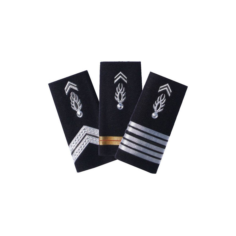 Pair of rigid shoulder from Departmental Gendarmerie